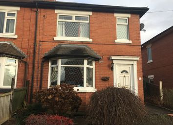 Thumbnail 3 bed semi-detached house to rent in Florence Road, Hanford, Stoke-On-Trent