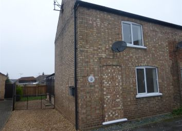 Thumbnail 2 bedroom semi-detached house to rent in Jobs Lane, March
