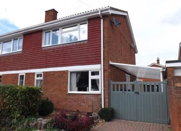 Thumbnail 3 bed semi-detached house for sale in Newis Crescent, Clifton, Shefford, Bedfordshire