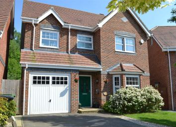 Thumbnail 4 bed detached house for sale in Pinewood Crescent, Hermitage, Thatcham