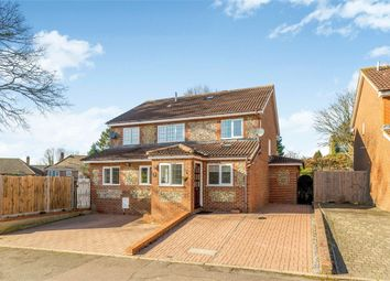 Thumbnail 5 bed detached house to rent in Newland Close, St Albans