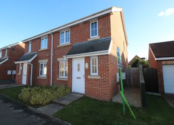 Thumbnail 3 bed semi-detached house to rent in Sargeson Road, Armthorpe, Doncaster