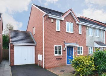 Thumbnail 3 bed town house for sale in Warners Drive, Weston Heights, Stoke-On-Trent