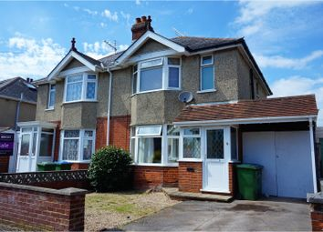 Thumbnail 2 bed semi-detached house for sale in Rosewall Road, Southampton