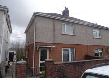 Thumbnail 3 bed semi-detached house to rent in Tre Ifor, Llwycoed, Aberdare