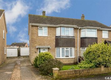 Thumbnail 3 bed semi-detached house for sale in Tadworth Road, Kennington, Ashford