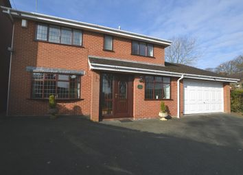 Thumbnail 4 bed detached house for sale in Charnes Road, Ashley, Market Drayton