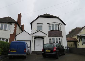 Thumbnail 4 bed detached house for sale in Lichfield Road, Rushall, Walsall