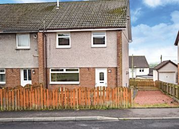 Thumbnail 3 bed semi-detached house for sale in Glencraig Street, Drongan, East Ayrshire