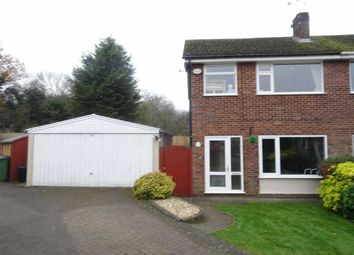 Thumbnail 3 bedroom semi-detached house for sale in Meadow Close, Stoney Stanton, Leicester