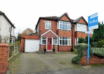 Thumbnail 3 bedroom semi-detached house for sale in Barnfield Road East, Davenport, Stockport