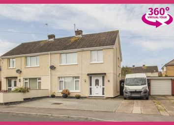Thumbnail 3 bed semi-detached house for sale in Pensarn Road, Rumney, Cardiff