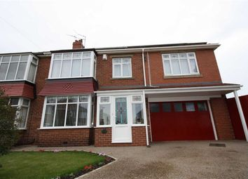 Thumbnail 4 bed semi-detached house to rent in Keswick Drive, North Shields