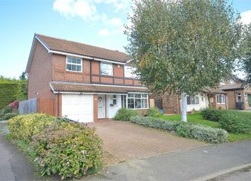 Thumbnail 5 bedroom detached house for sale in Rea Close, East Hunsbury, Northampton