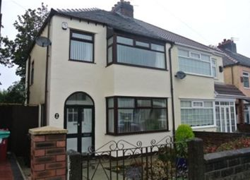 Thumbnail 3 bed semi-detached house to rent in Gordon Dr L14, 3 Bed Semi