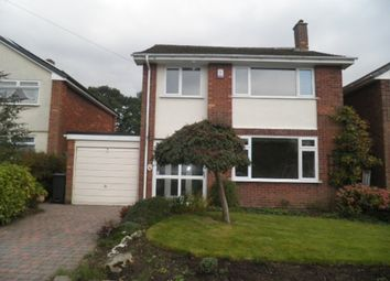 Thumbnail 3 bed detached house to rent in Garnett Drive, Sutton Coldfield