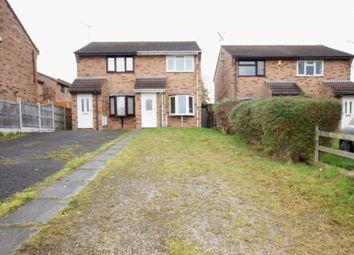 Thumbnail 2 bed semi-detached house for sale in Farm Road, Buckley, Flintshire.