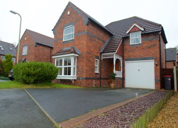 Thumbnail 3 bed detached house for sale in Merganser Close, Leegomery, Telford