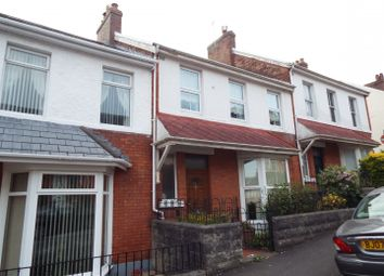 3 bed terraced house for sale in 31 Oakland Road, Mumbles, Swansea SA3