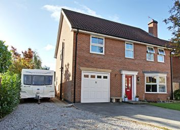 Thumbnail 4 bed detached house for sale in Fair View Close, Gilberdyke, East Yorkshire