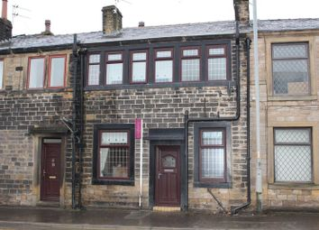 Thumbnail 1 bed terraced house to rent in Rochdale Road, Milnrow, Rochdale