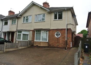 Thumbnail 3 bed end terrace house to rent in Kings Road, Kingstanding, Birmingham
