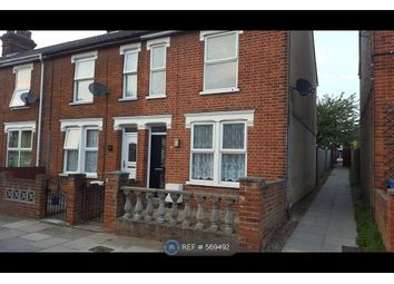 Thumbnail 3 bedroom end terrace house to rent in Gladstone Road, Ipswich