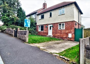 Thumbnail 3 bed semi-detached house for sale in Haywood Avenue, Blidworth, Mansfield
