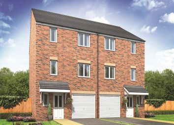 "Thumbnail 4 bed terraced house for sale in ""The Longford"" at Green Lane, Truro"