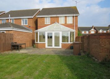 Thumbnail 3 bedroom detached house to rent in Thornham Way, Eastrea, Peterborough