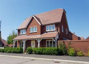 Thumbnail 4 bed semi-detached house for sale in De Morgan Crescent, Tadpole Garden Village, Swindon