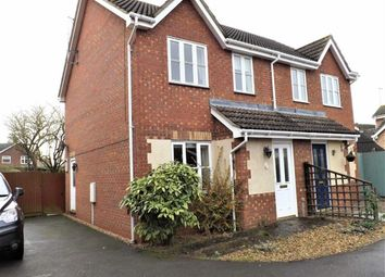 Thumbnail 3 bedroom semi-detached house to rent in St. James Way, Moulton Chapel, Spalding