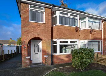 Thumbnail 3 bedroom semi-detached house for sale in Cromer Road, Bispham, Blackpool