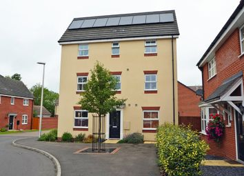 Thumbnail 4 bed town house for sale in Teeswater Close, Long Lawford, Rugby