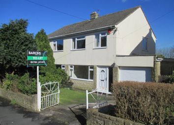 Thumbnail 3 bed semi-detached house to rent in Greenlands Road, Peasedown St John, Bath