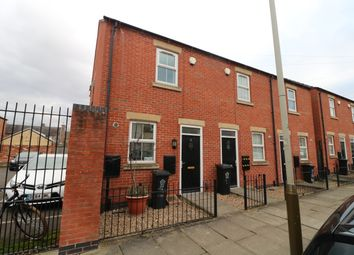 Thumbnail 2 bed end terrace house for sale in Ruby Street, Leicester