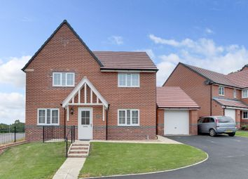 Thumbnail 4 bed detached house for sale in Rudge Close, Webheath, Redditch