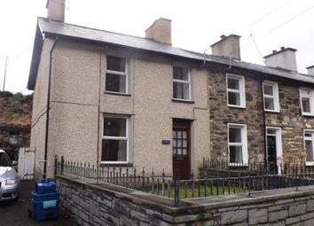 Thumbnail 3 bed terraced house for sale in Rhyd Y Gro, Tanygrisiau, Blaenau Ffestiniog, Gwynedd