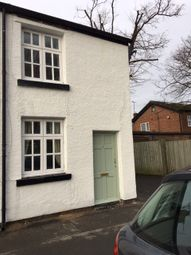 Thumbnail 2 bed cottage to rent in Station Road, Parkgate, Wirral