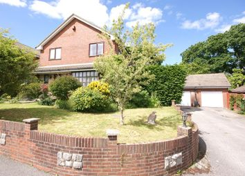 Thumbnail 4 bed detached house for sale in Hawthorn Drive, Poole