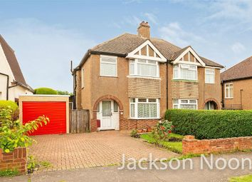 Thumbnail 3 bed semi-detached house for sale in Northcroft Road, West Ewell, Epsom