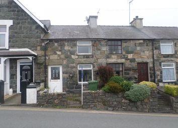 Thumbnail 2 bed terraced house for sale in 7, Y Grugan, Groeslon, Caernarfon