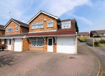 Thumbnail 4 bedroom detached house for sale in Dursley Close, Willenhall