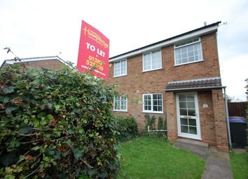 Thumbnail 2 bed property to rent in Hawthorn Crescent, Stapenhill, Burton Upon Trent, Burton Upon Trent, Staffordshire