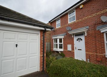 Thumbnail 3 bed end terrace house to rent in Deardon Way, Shinfield, Reading
