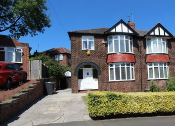 Thumbnail 3 bed semi-detached house for sale in Woodhill Grove, Prestwich, Manchester