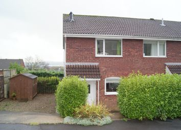 Thumbnail 2 bed end terrace house to rent in Hazeldene Avenue, Brackla, Bridgend.