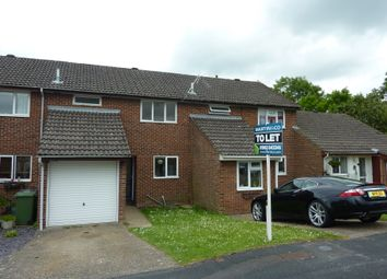 Thumbnail 3 bed terraced house to rent in Broad Chalke Down, Badger Farm, Winchester, Hampshire