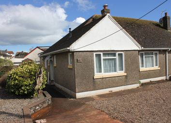 Thumbnail 2 bed semi-detached bungalow to rent in Marldon Road, Paignton