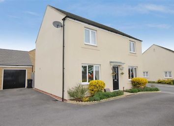 Thumbnail 4 bedroom detached house for sale in Sanders Close, Stratton, Swindon